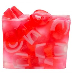 Candy Cane Mountain Handmade Soap