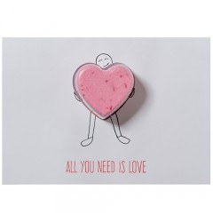 All You Need Is Love Blaster Card
