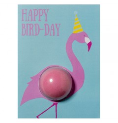 Happy Bird Day Blaster Card