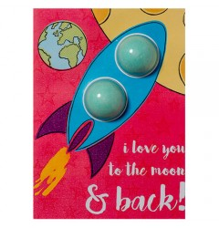 I Love You To The Moon & Back Blaster Card