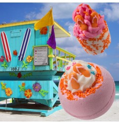 Sunset Boulevard Bath Blaster & Flip Flop Hip Hop Bath Mallow
