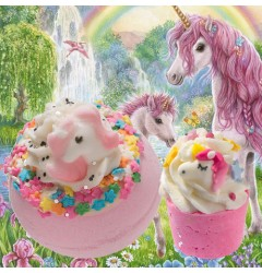 I Believe In Unicorns Bath Blaster & It's A Kinda Magic Bath Mallow