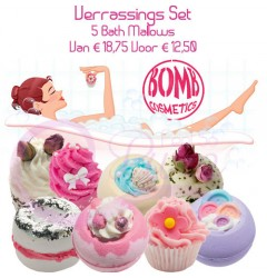Verrassings Set Bomb Cosmetics Mallows