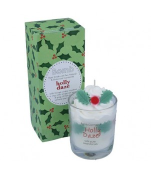 Holly Daze Whipped Candle