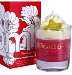 Jingleberry Whipped Candle