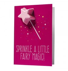Sprinkle A Little Fairy Magic Blaster Card
