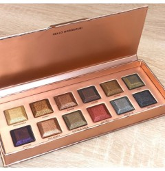 La Palette Eye Shadow Shiny Colors