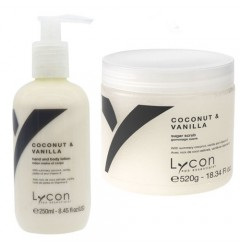 Coconut & Vanille Sugar Scrub & Body Lotion Lycon