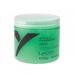 Apple & Cranberry Sugar Scrub Lycon